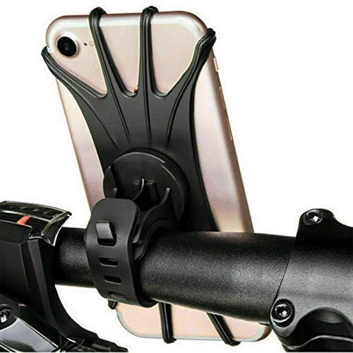 Soporte para teléfono de bicicleta de rotación de 360 grados con GPS para manillar de bicicleta, soporte ajustable (color : soporte para teléfono de bicicleta)