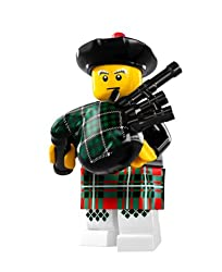 Image: LEGO Minifigures Series 7 Bagpiper COLLECTIBLE Figure bagpipe Scotland musical instrument