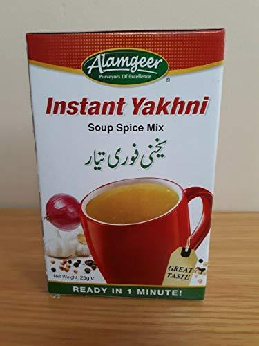 Instant Yakhni Suppen-Gewürzmischung, toller Geschmack in 1 Minute, Alamgeer, 5 x Sachtes