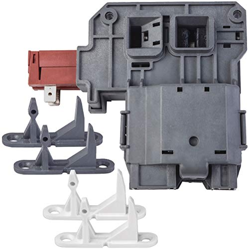131763256 131763202 131763310 Front Load Washer Replacement Parts Door Striker Latch Lock Switch Assembly for Frigidaire Affinity, Kenmore, Electrolux, White Westinghouse, Gibson Washing Machine
