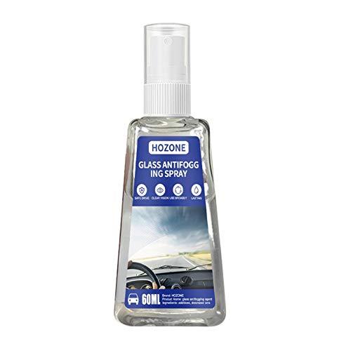 Patzbuch Professionelles Anti-Beschlag-Spray für Glas, universell, für Outdoor-Sportarten, zur Beseitigung von Nebel, Autoscheiben-Reinigungswerkzeug, Schwimmbrillenreiniger, tragbar (60 ml)