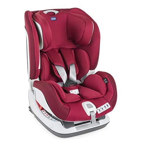 Chicco Seat Up Seggiolino Auto, 0-25 kg, Gruppo 0/1/2, Reclinabile, Isofix, Red Passion