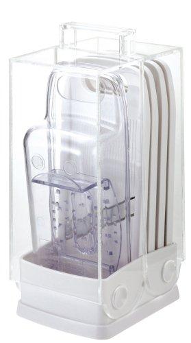 Vertical ensemble de cuisson de l?gumes C-8650 perle Easy Wash Lave-vaisselle correspondant (Japon import / Le paquet et le manuel sont ?crites en japonais)