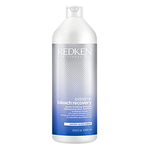 Redken Extreme Bleach Recovery Shampoo | For Bleached Hair | Restores Strength, Softness & Shine | Silicone Free | 33.8 Fl Oz