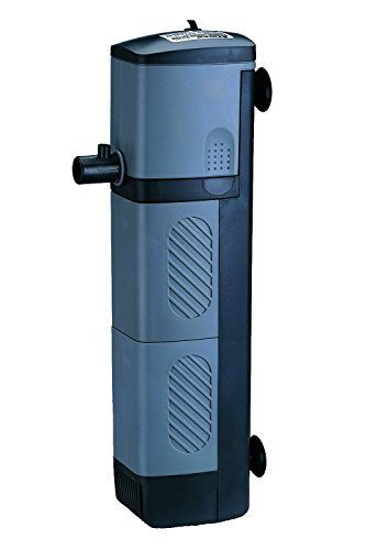 BPS® Tauchpumpe, Pumpe mit Filter für Aquarium oder Aquarium, Tauchbar (7,5 x 5,5 x 28,4 cm)