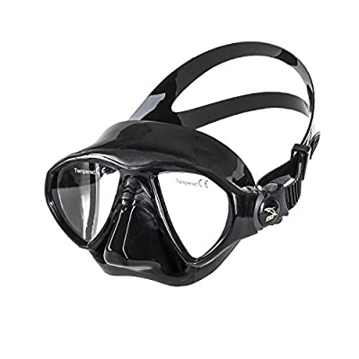 IST M99 SEAL Low Volume Dive Mask for Snorkeling & Scuba Diving, Twin Lens with Integrated Skirt