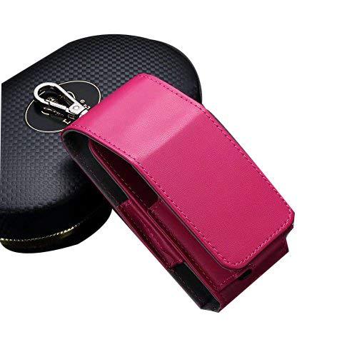 Negro cigarrillo electrónico bolsa de soporte puro cubierta iqos funda tipo cartera para cigarro electrónico Anti Scratch profesional Travel Carry Case Pouch para Kit de cigarrillo eléctrico