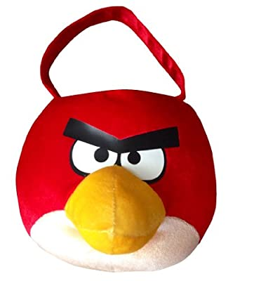 Angry Birds Plush Easter Basket (Red)
