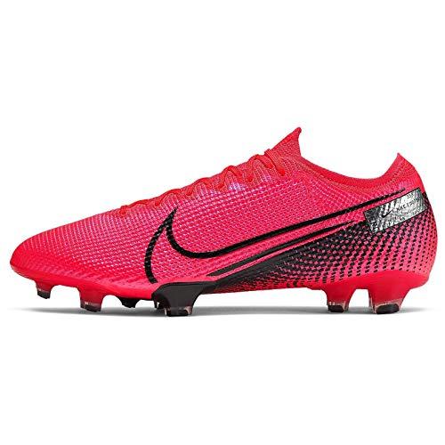 Nike Scarpa Calcio Vapor XIII Elite FG 41, Laser Crimson-Black
