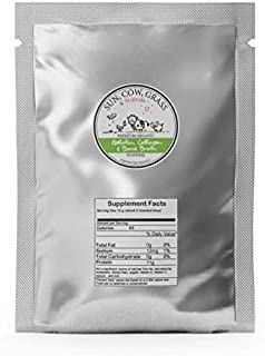 Bone Broth Gelatin Powder - Gelling Type - Pure Protein Organics 2 lb