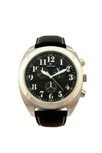 Oskar Emil Copenhagen BK/WH - Reloj de Caballero de Cuarzo