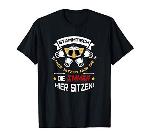 Stammtisch Biergläser   Männer & Frauen   Bier Spruch T-Shirt