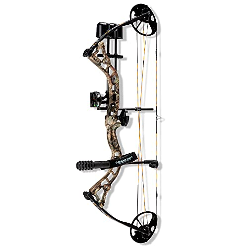 Diamond Archery Infinite 305 Compound Bow - Breakup Country - 70 lbs, Left Hand