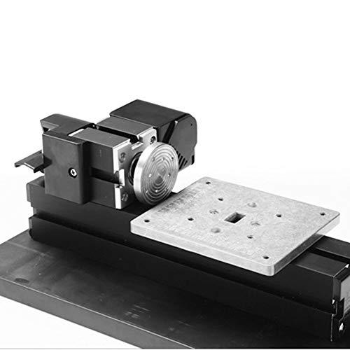 6in1ミニ旋盤、24W110-240V精密DIY旋盤キット、メタル回転旋盤、20000RPM旋盤マシン、ハイパワーミニチュアメタル回転旋盤、家族や学校の子供たちがモデルやその他の木工モデルを作成するのに適用