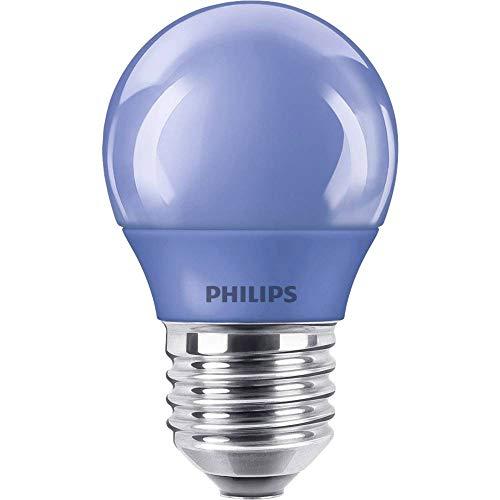 Philips 8718696748626 E, LED Colored P45 E27 Blue 1SRT4, Plastik, 3.1 watts, E27, Blau, 4.5 x 4.5 x 7.8 cm