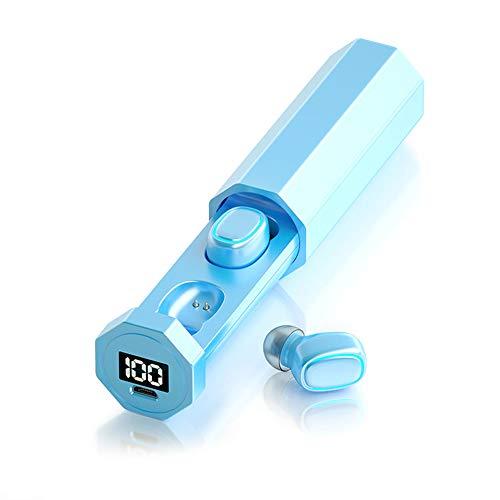 pedkit TWS Binaural Earbuds True Wireless Bluetooth 5.0 Fone de oido Mini fones de oido sem fio Fone de oido esportivo com controle de toque de microfone para telefones