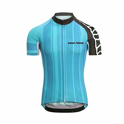 Uglyfrog Vestiti Ciclismo MTB Magliette Jersey Uomo Mountain Bike Manica Corta Camicia Top Sport e Tempo Libero Abbigliamento