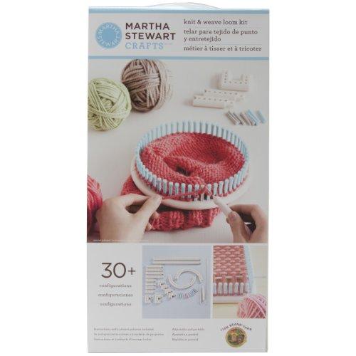 Lion Brand Yarn Martha Stewart Crafts Knit and Weave Loom Kit