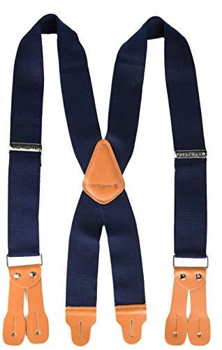 Carhartt Men's Utility Suspender, Dungaree Navy