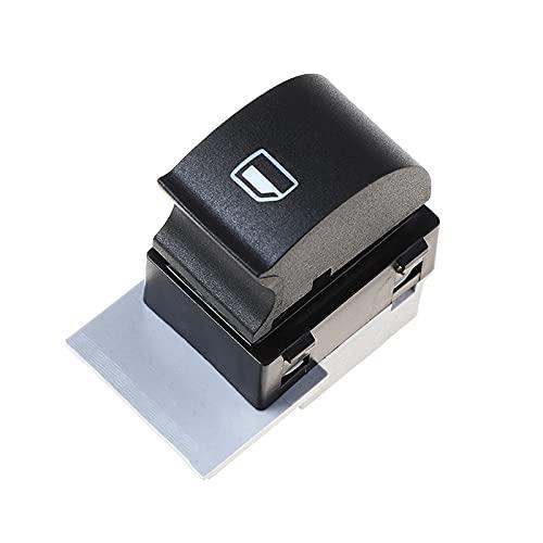 GLLXPZ Interruptor de La Botonera Elevalunas, para Audi A3 A6 C5 Allroad 1997-2005, Electrónico Panel Interruptor de Botón