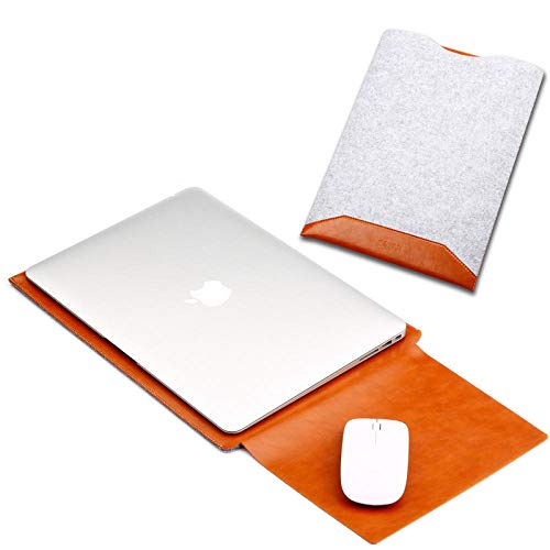 Yinghao Borsa a Manica in Feltro per MacBook PRO Air 13 2017 2018 Retina 12 13 15 Custodia per Laptop per MacBook Air 13 PRO 13 A1466 A1706 A1989@Un_per Il 2016 New PRO 13