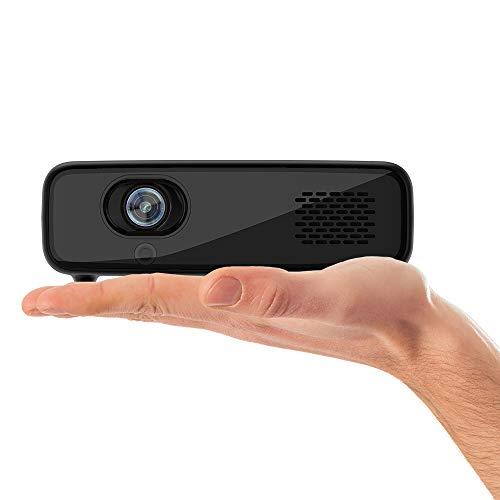 Philips Projection PicoPix Max One, kompakter Projektor mit DLP-LED, HDMI, USB-C, 5 Std. Akkulaufzeit, Black