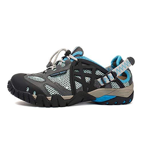 XJWDNX Hommes Randonnée en Plein Air Chaussures D'été Respirant Hommes Sneakers Séchage Rapide Chaussures Aqua Chaussure d'eau Escalade Trekking Chaussures