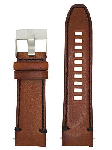 Diesel LB-DZ4508 - Correa de Repuesto para Reloj (Piel, 26 mm), Color marrón