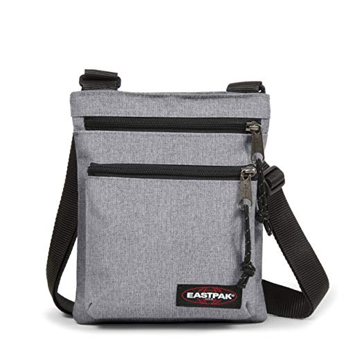 Eastpak Rusher Borsa A Tracolla, 23 cm, Grigio (Sunday Grey)