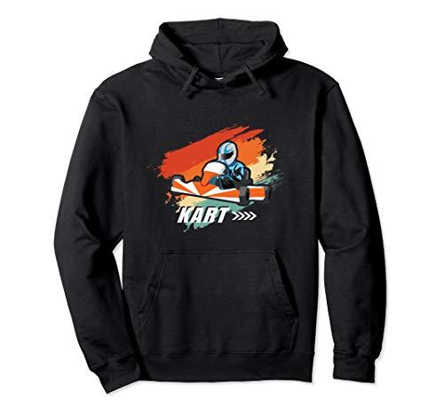 Go Kart Racing Motorsport Rennsport Geschenk Für Rennfahrer Pullover Hoodie