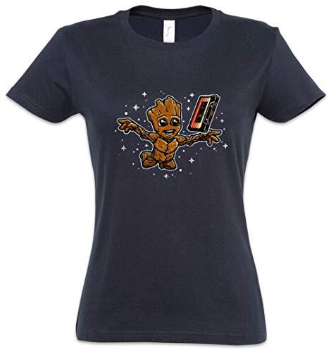 Urban Backwoods Smells Like Tree Spirit Camiseta de Mujer Women T-Shirt Azul Talla XS