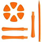 PagKis Anti-static Fiber Plastic Opening Pry Tools for Mobile and Gadgets Disassembly (Orange)