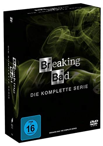 Breaking Bad - Die komplette Serie (21 Discs) [DVD]