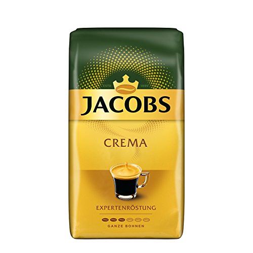 Jacobs Kaffeebohnen Expertenröstung Crema, 1 kg Bohnenkaffee