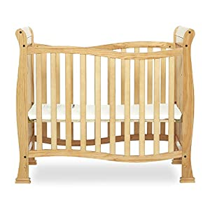 Dream On Me Violet Mini Crib in Natural, Greenguard Gold Certified