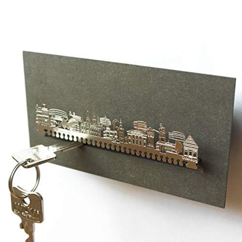 Oldenburg-Skyline Schlüsselbrett Souvenir in der Geschenk-Box