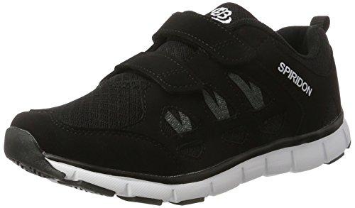 Brütting SPIRIDON FIT V Sneaker Jungen, Schwarz/ Weiß, 40 EU