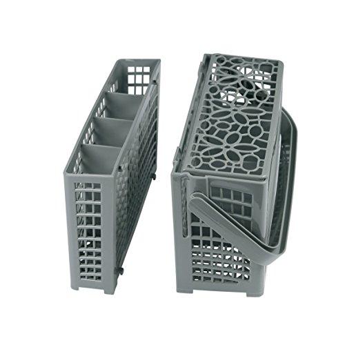 Europart 10032551 Besteckkorb Korb Universal teilbar für fast alle 45cm 60cm Spülmaschine Geschirrspüler passend für AEG Bosch Bauknecht Beko Candy SMEG Gorenje