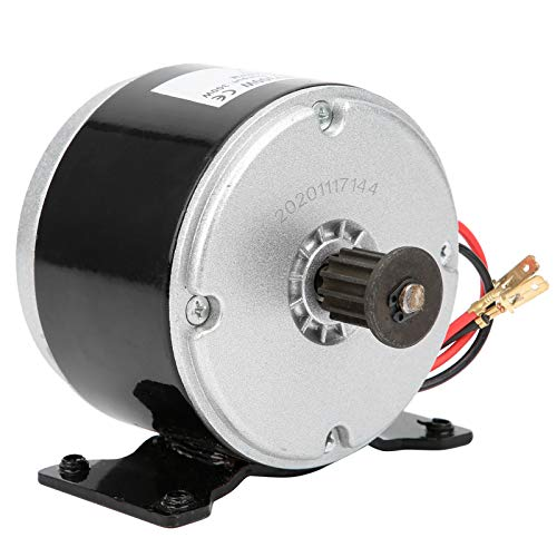 Akozon Motor eléctrico 24 V CC Motor de Scooter Motor de Cadena Cepillado (280W 2750RPM) Reemplazo de Accesorios