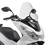 Givi - D1136ST|67 - Parabrisas para moto scooter compatible con Honda PCX 125 150 2014