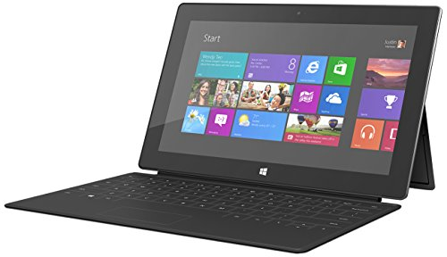 Microsoft Surface Windows RT Tablet 32 GB Bundle mit Touch-Cover schwarz