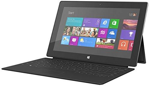 Microsoft Surface RT 32GB Black - Tablet (IEEE 802.11n, Windows, Pizarra, Windows RT, Negro, IEEE 802.11a, IEEE 802.11b, IEEE 802.11g, IEEE 802.11n)