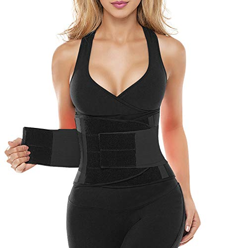 SHAPERX Women Waist Trainer Belt Waist Trimmer Belly Band Slimming Body Shaper Sports Girdles...