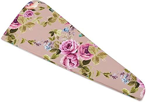 Haartrocknerhandtücher, Blumenturban für DryShower Cap Hair Turban zum Trocknen von gelocktem, langem, dickem Haar, schnell magischer Trockner