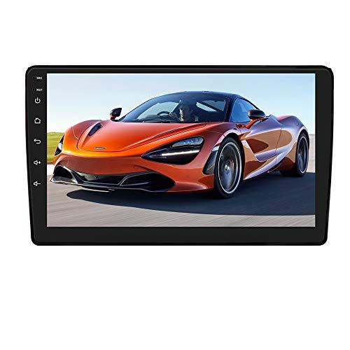 Autoradio Android 10 con sistema touch screen da 9 pollici per Audi A4 2000-2009, supporta la navigazione GPS Controllo del volante Specchio Link FM WiFi EQ USB Bluetooth