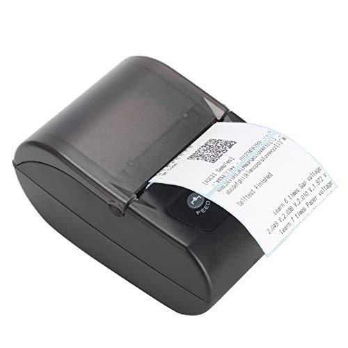 Etikettendrucker, QR-Code-Drucker, 58-mm-Druck Eindimensionaler Code zum Drucken von Textdruckmustern Drucken von Zeichen(European regulations)