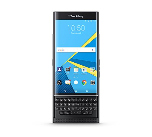 "BlackBerry Priv - Smartphone de 5.4"" (4G, Snapdragon 808, 3 GB de RAM, 32 GB) Color Negro"