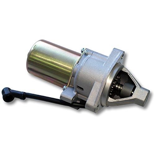 WilTec Pieza de Repuesto Motor de Arranque Potente para Motores de Gasolina...