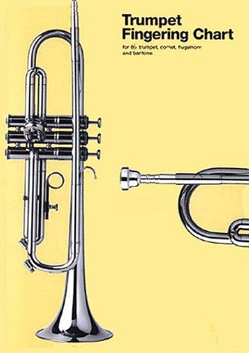 Trumpet Fingering Chart: For B-Flat Trumpet, Cornet, Flugelhorn and Baritone