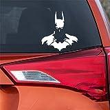 Batman sticker mural autocollant de voiture autocollants Batman Super Hero Justice Ligue Creative Stickers pour ordinateur portable Auto Tuning Styling
